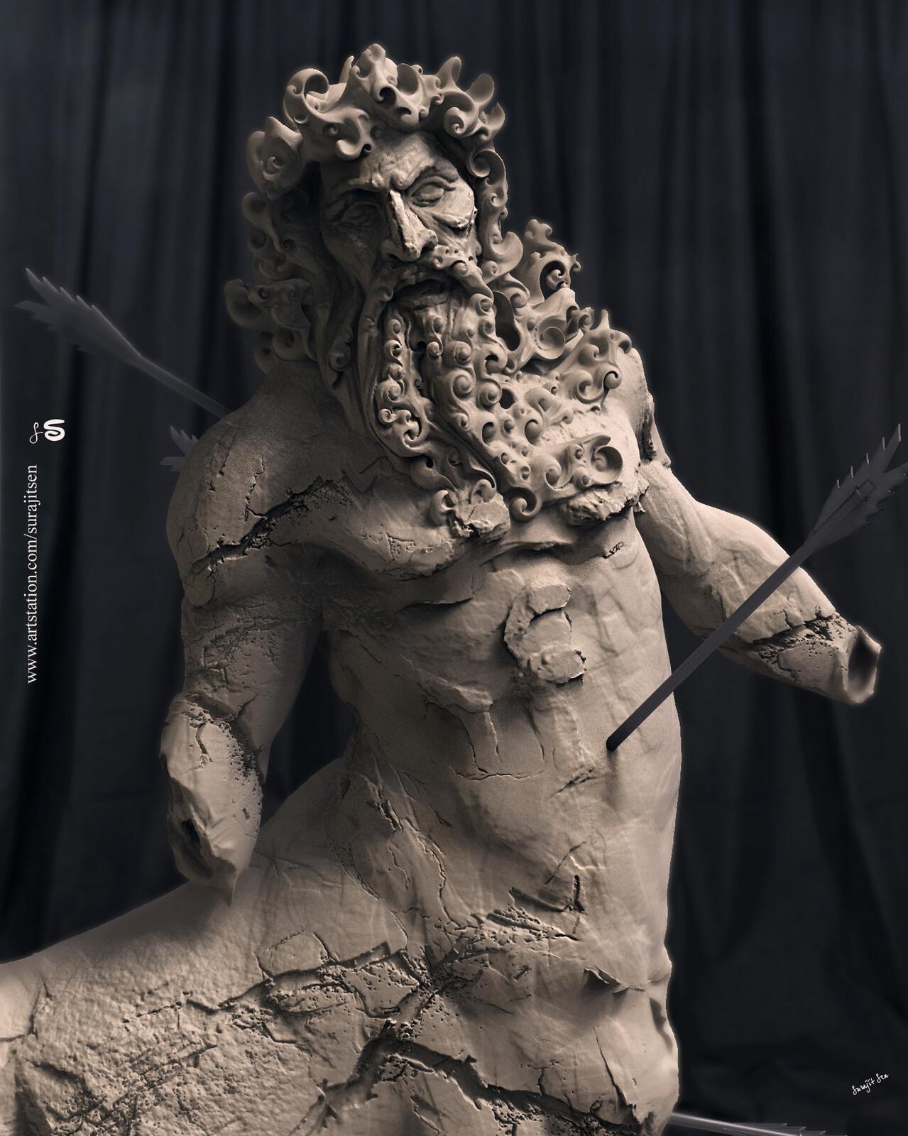 "My old Digital Sculpture...""Arrowstuck"""