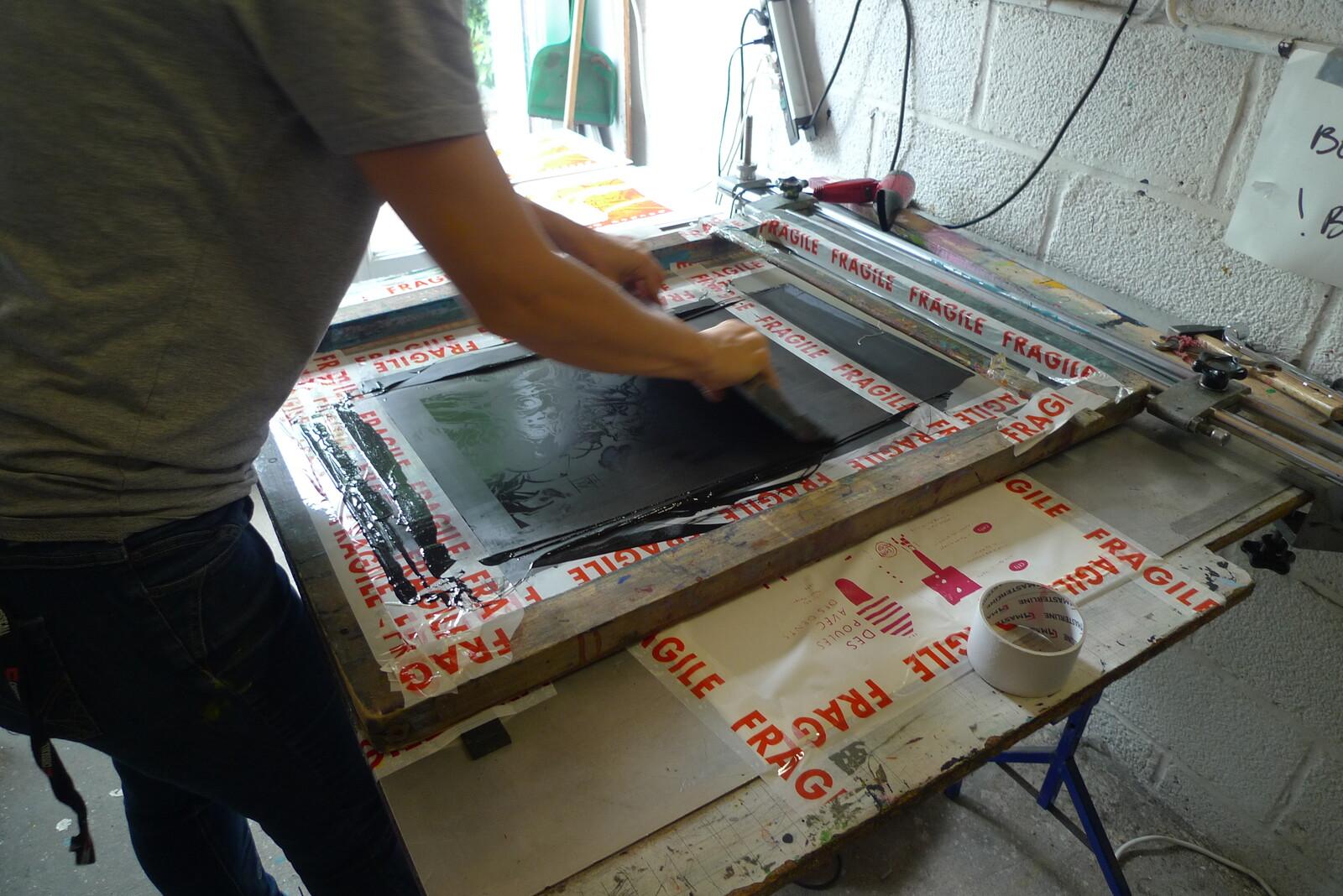 printing the third colour