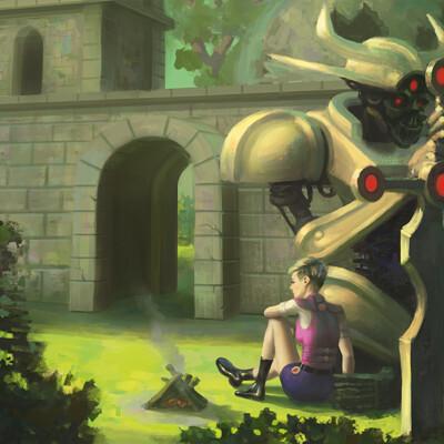 Efraim ninsiima wipa girl and her robot ii printcandidate