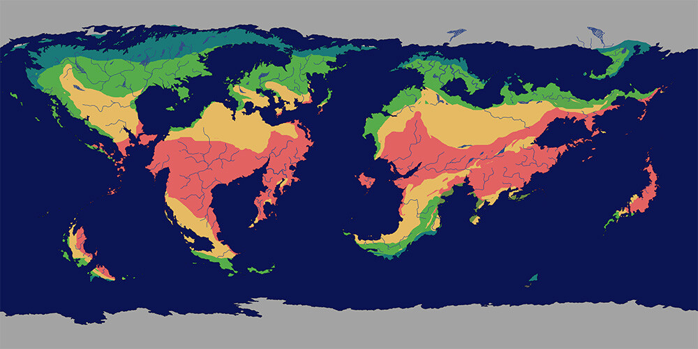 Climate map.