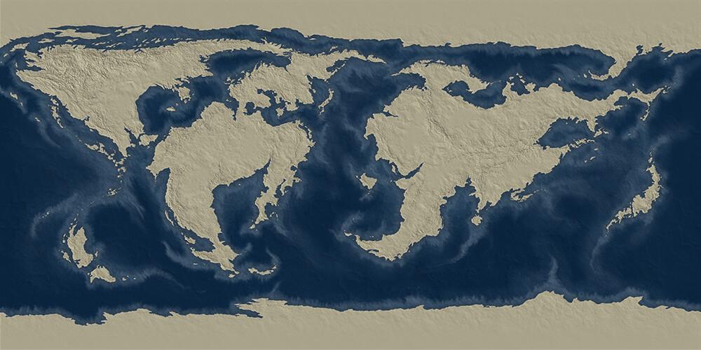 Hight map.