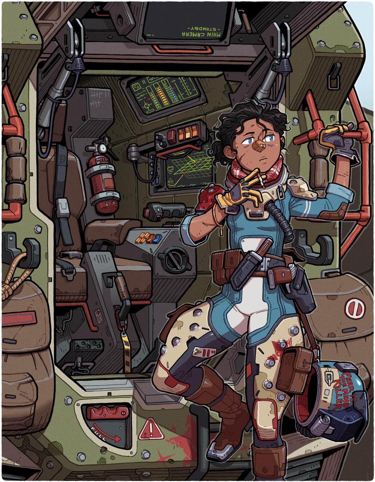 Mecha Cockpit - LancerRPG