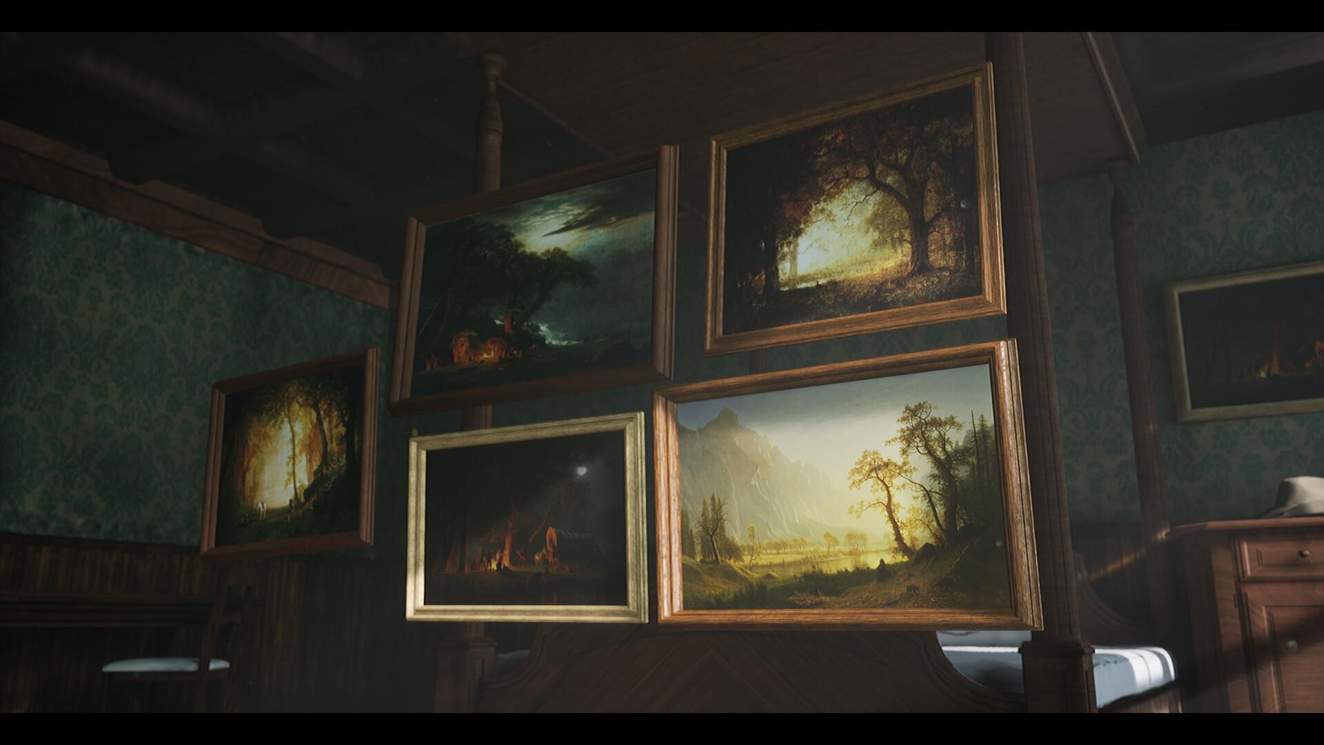 Christoffer radsby wip western room 04 paintings