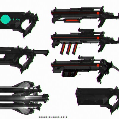 Benedick bana guns set 2a lores