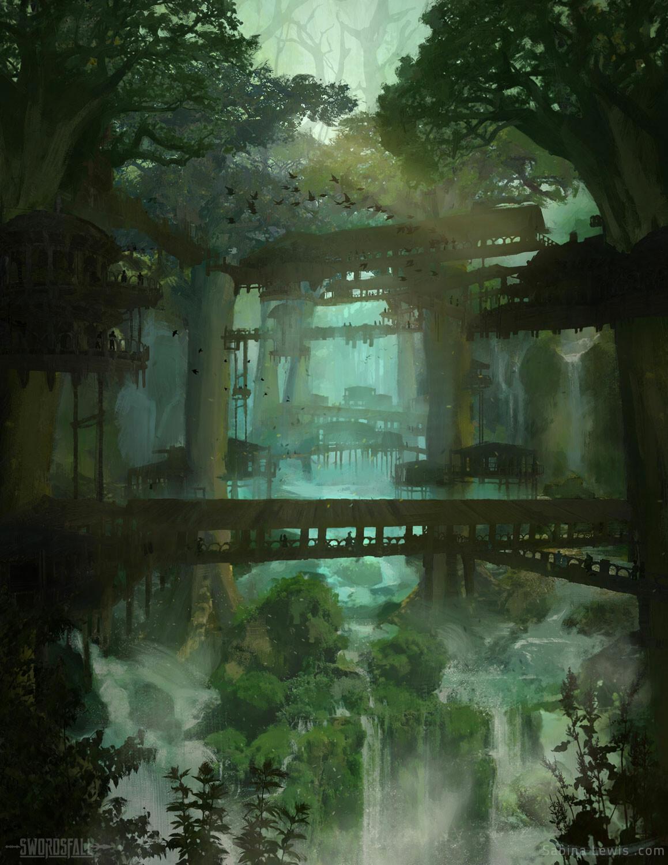 Swordsfall - Garuda Waterfalls