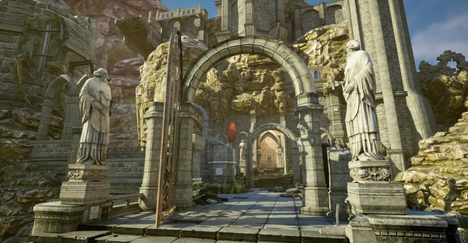 Main Gate - Day