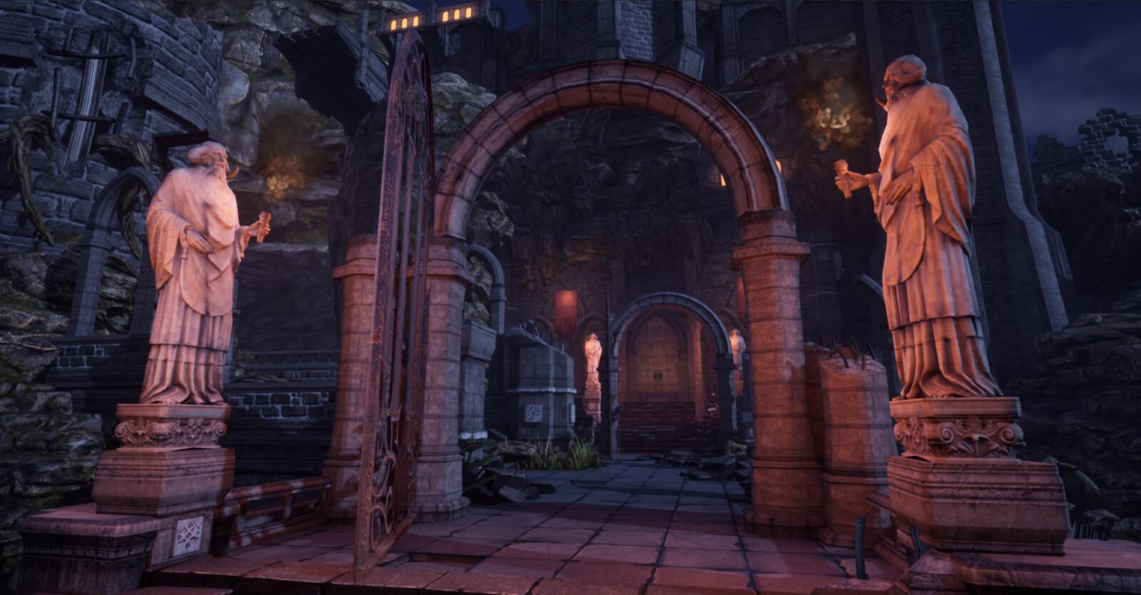 Main Gate - Night