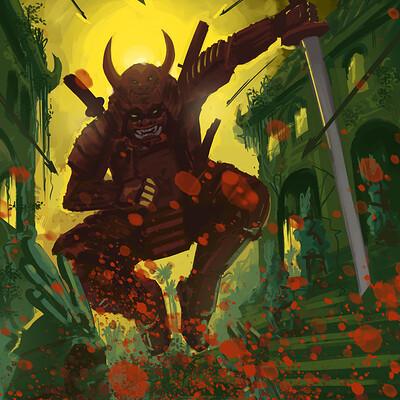 Huesos negros tropical samurai 3
