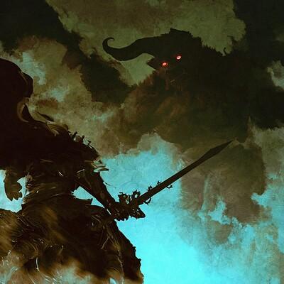 Anato finnstark nosferatu zodd vs the skull knight berserk by anatofinnstark ddd9443 fullview