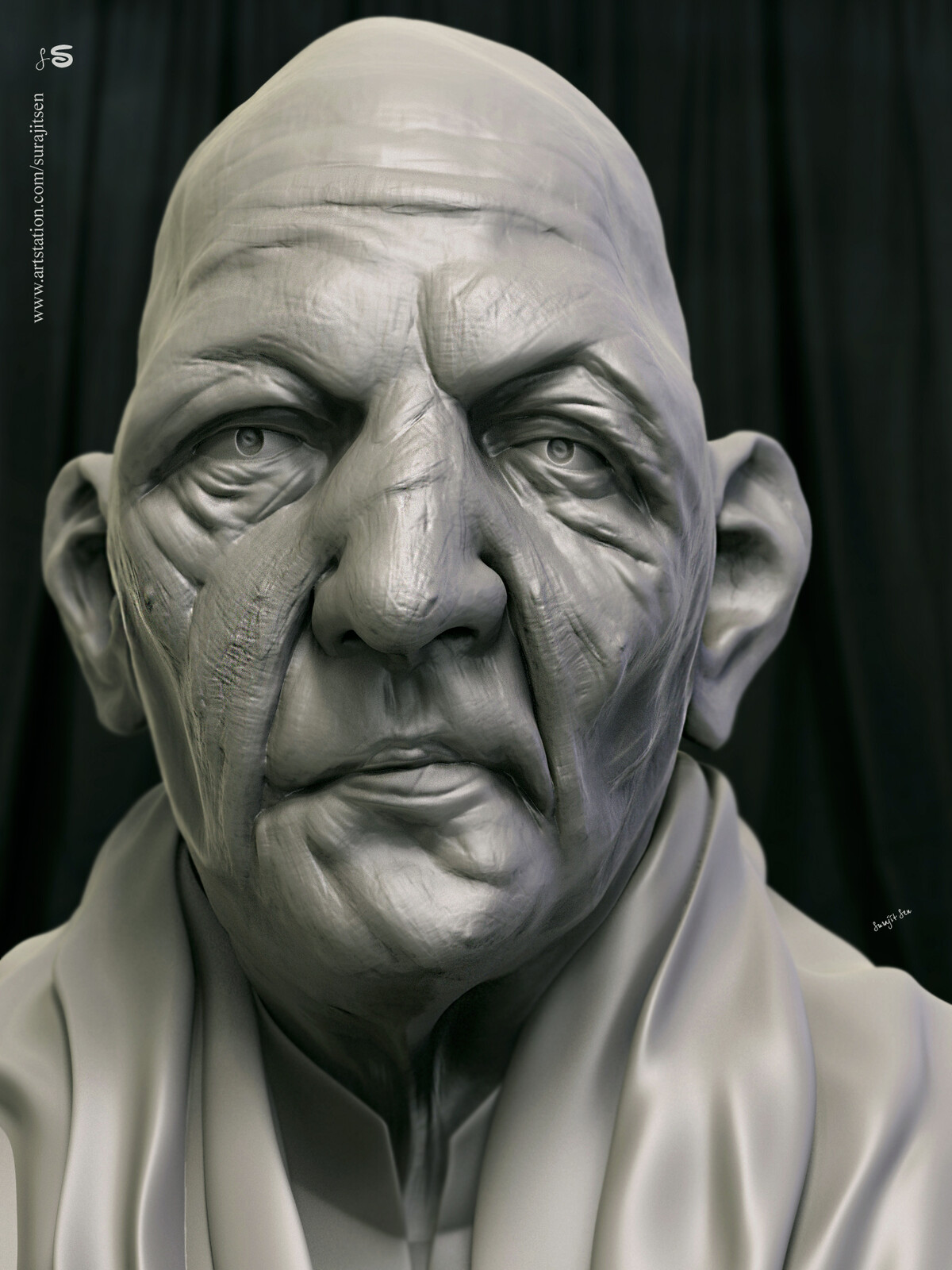 One of my Speed Digital Sculpture study....