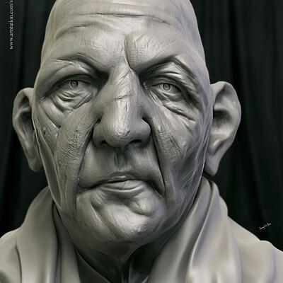 Surajit sen kaka digital sculpture surajitsen aug2019