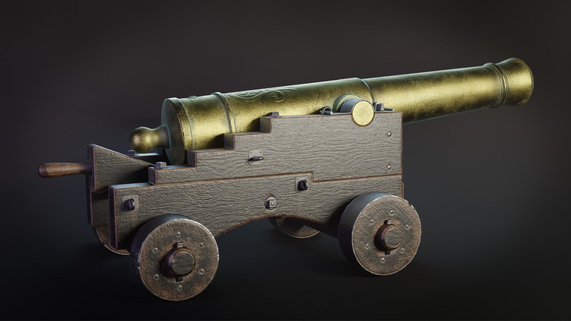 Pavel mazanik naval cannon render 01