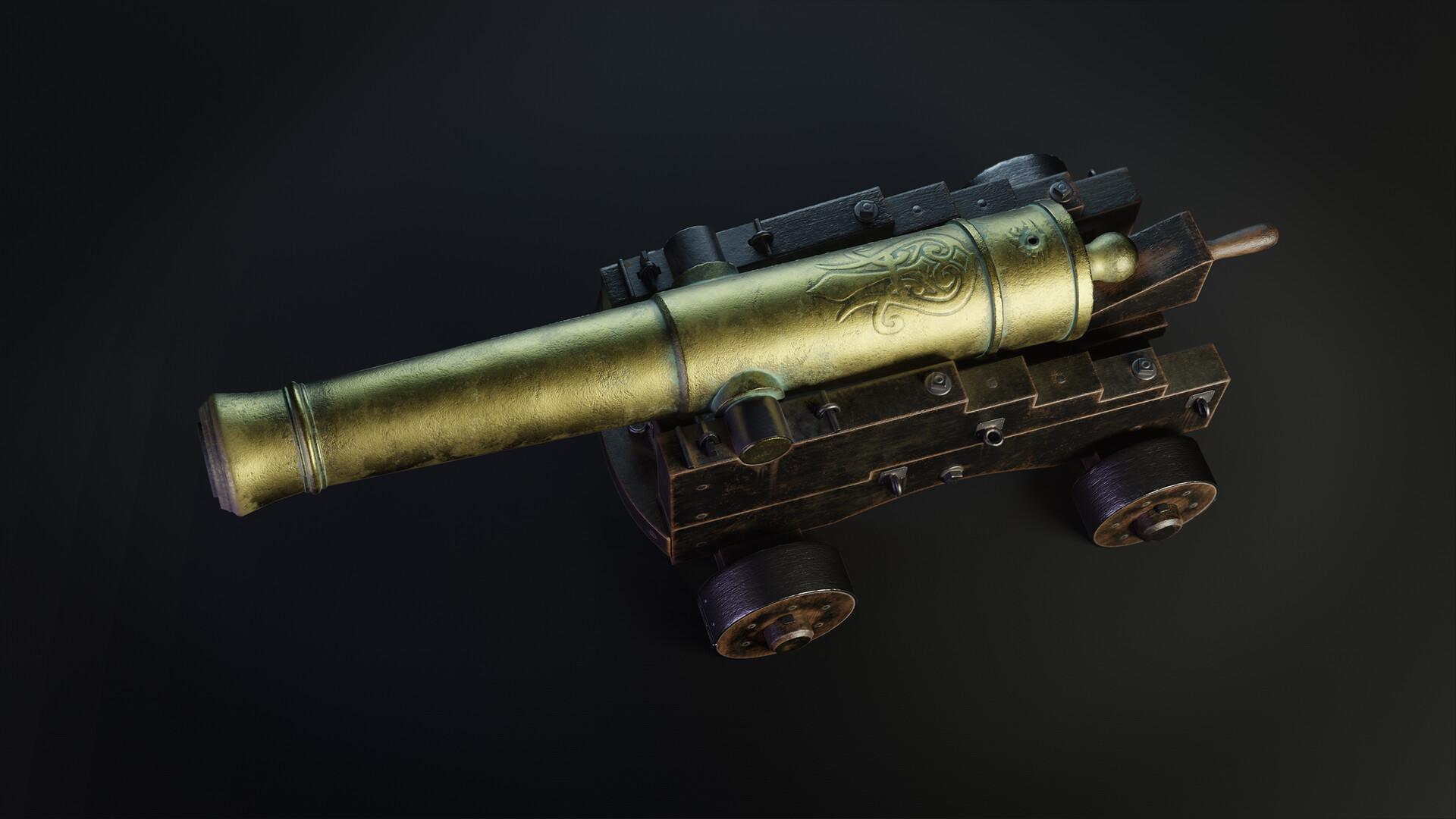 Pavel mazanik naval cannon render 02