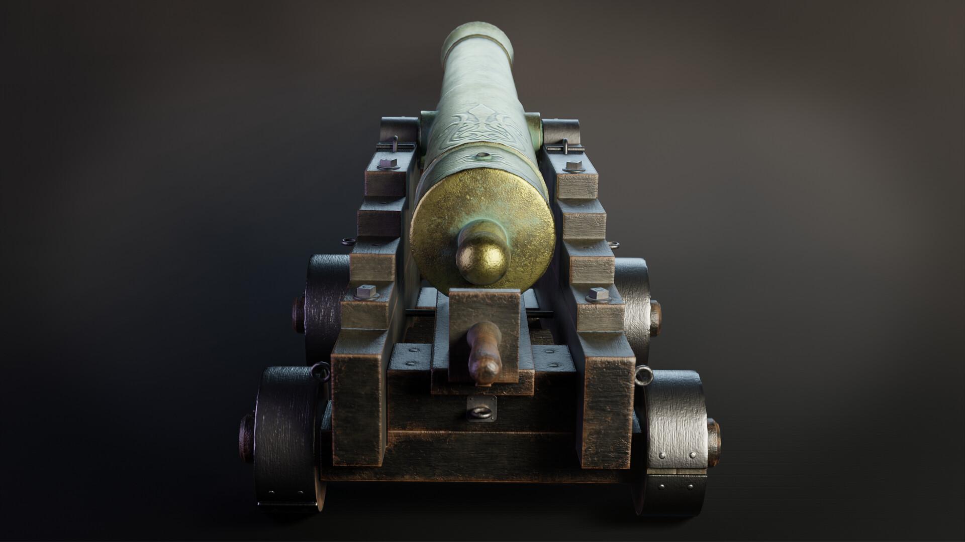 Pavel mazanik naval cannon render 04