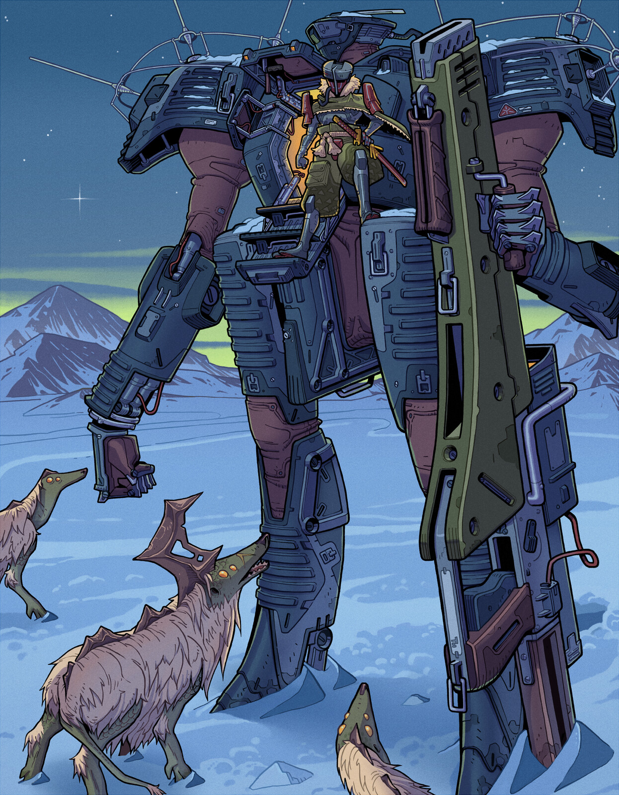 Snow Encounter - LancerRPG