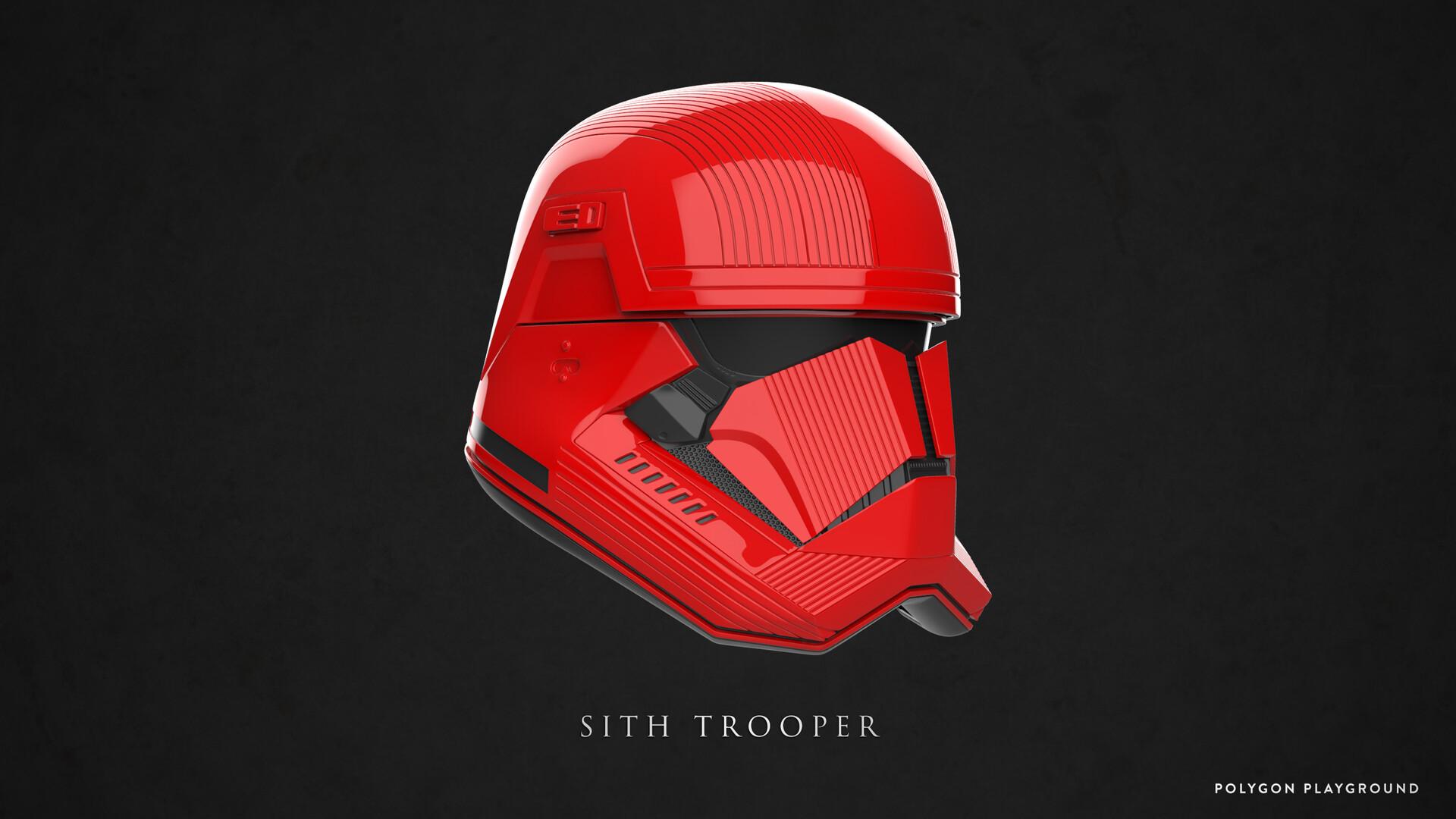 Artstation Sith Trooper Helmet Calvin Kam