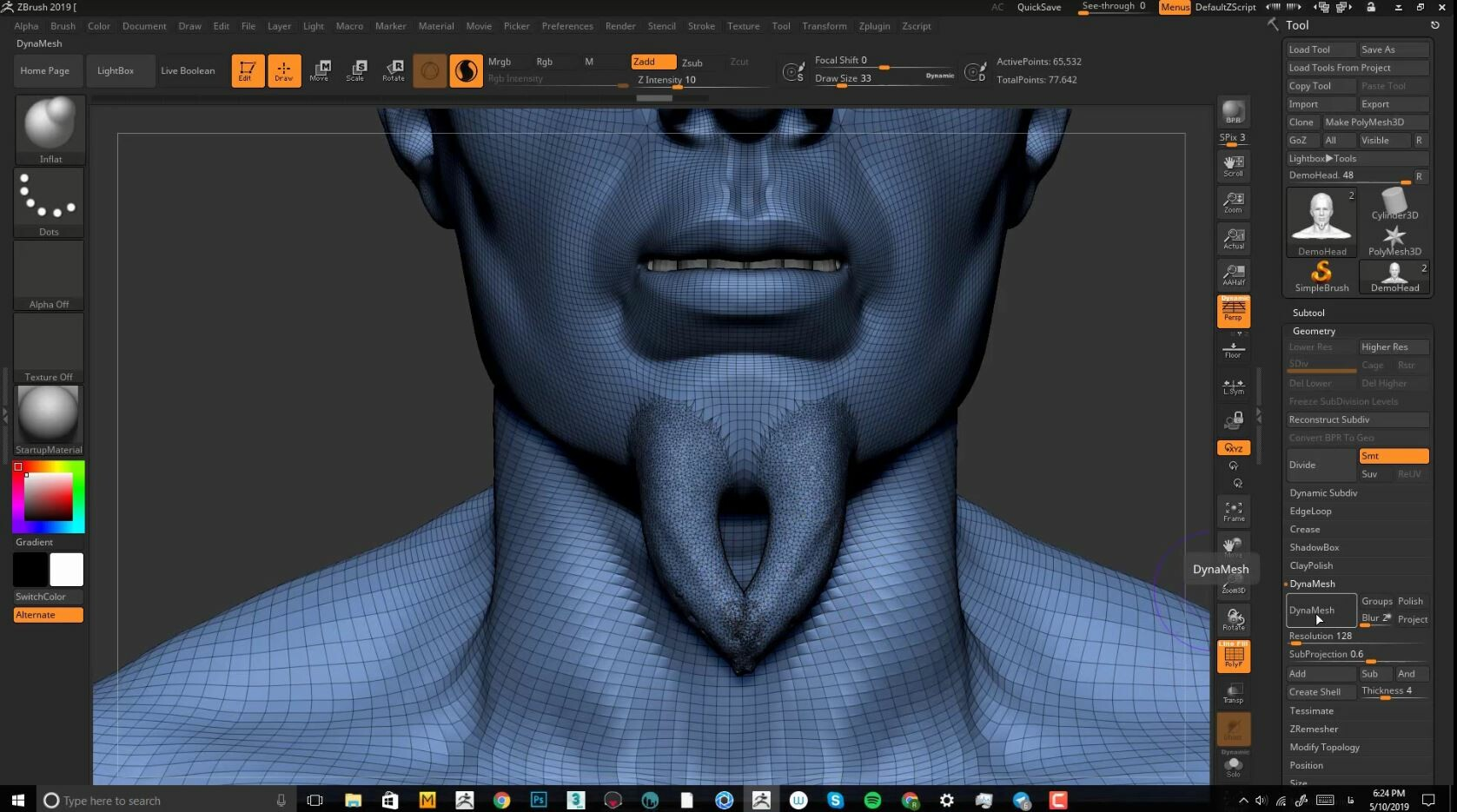 ArtStation - Free Zbrush Tutorial - Sculptris Tips and