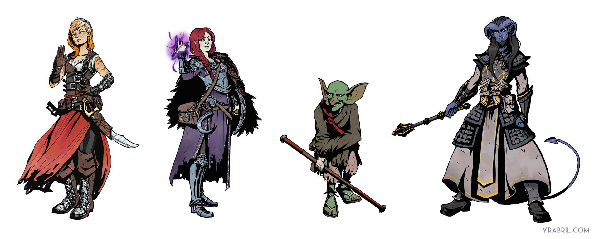 Yara abril characters1