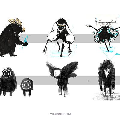 Creature Design - Silhouettes