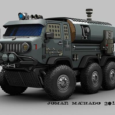 Jomar machado mini battle truck step 00