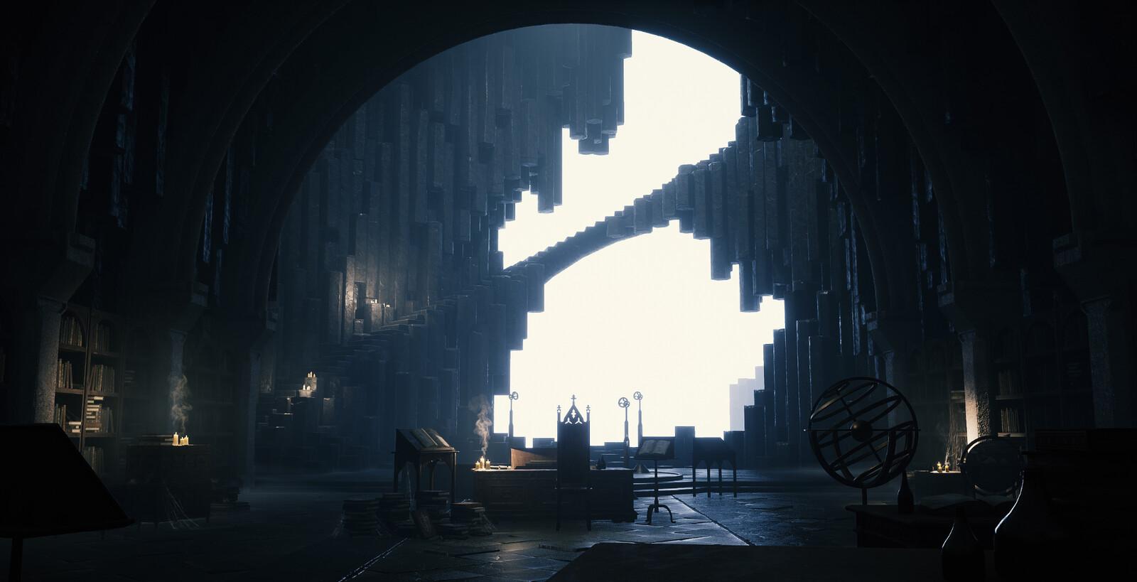 Artstation Challenge: The Legend of King Arthur, Game Environment/Level Art Submission