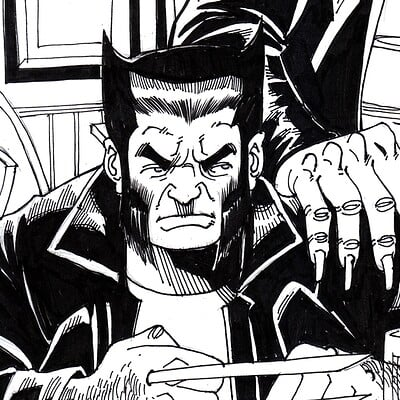 Afromation art wolverine inks cv1a