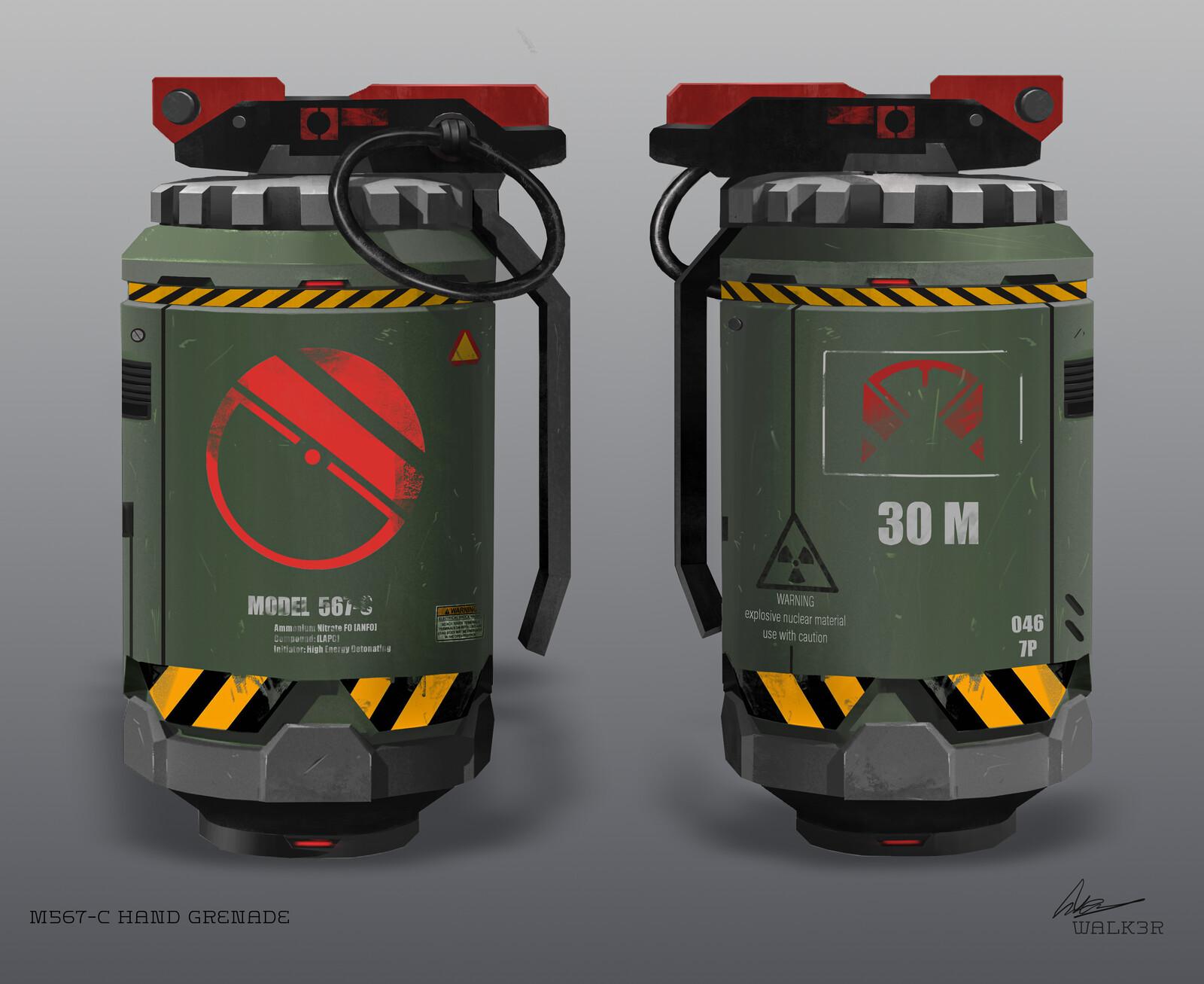 M567-C Hand Grenade
