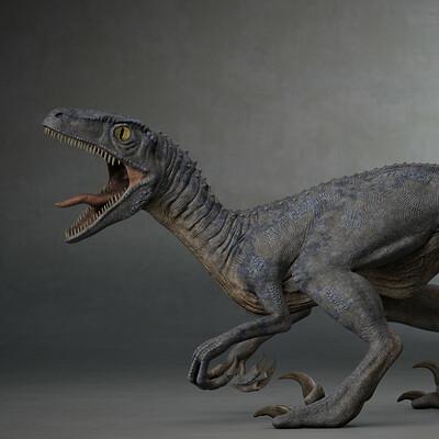 Davide zecca velociraptor