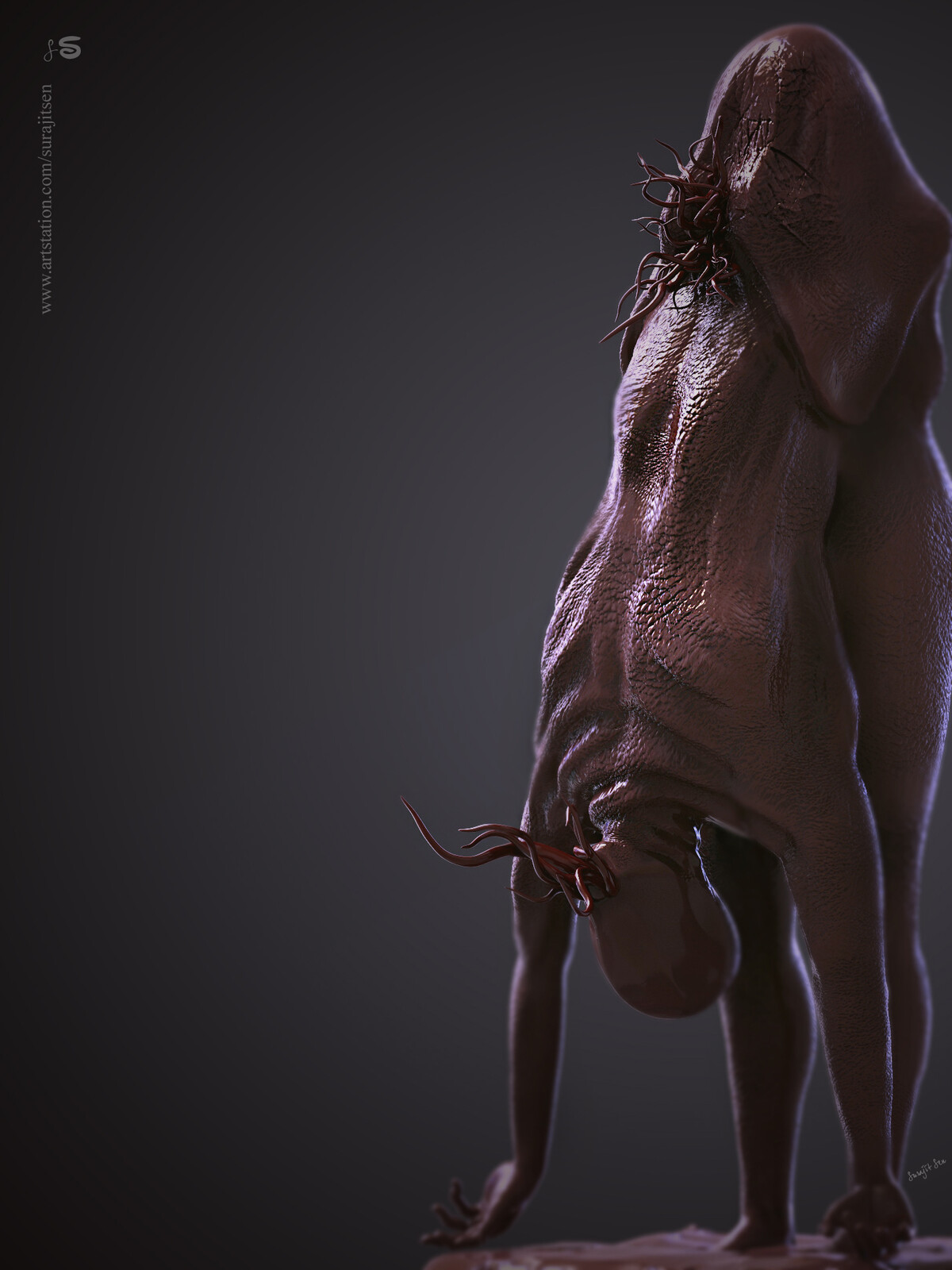 One of my old Creature ... Digital Sculpture... Found that today .. Wish to share:)