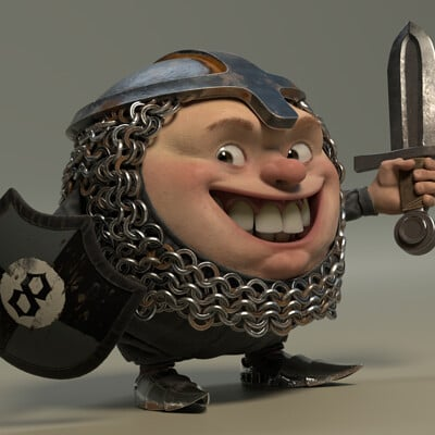 Martin guldbaek round knight render scene 06 0001