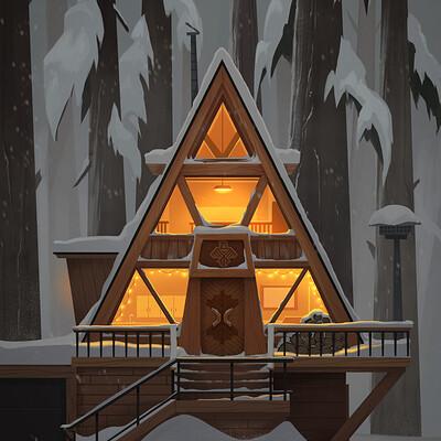 Isaac orloff pnw cabin