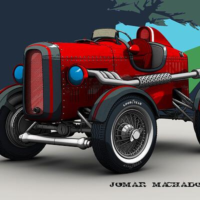 Jomar machado 205 the runner
