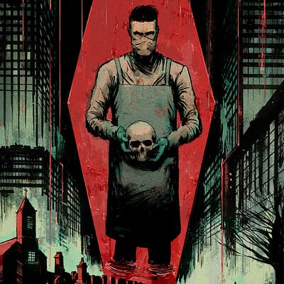Chris shehan death dreamer cover colors