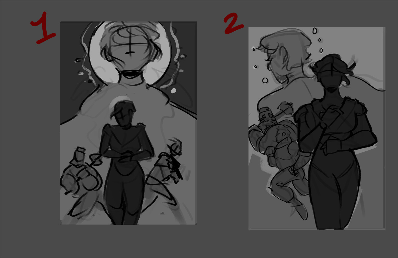 Thumbnail compositions