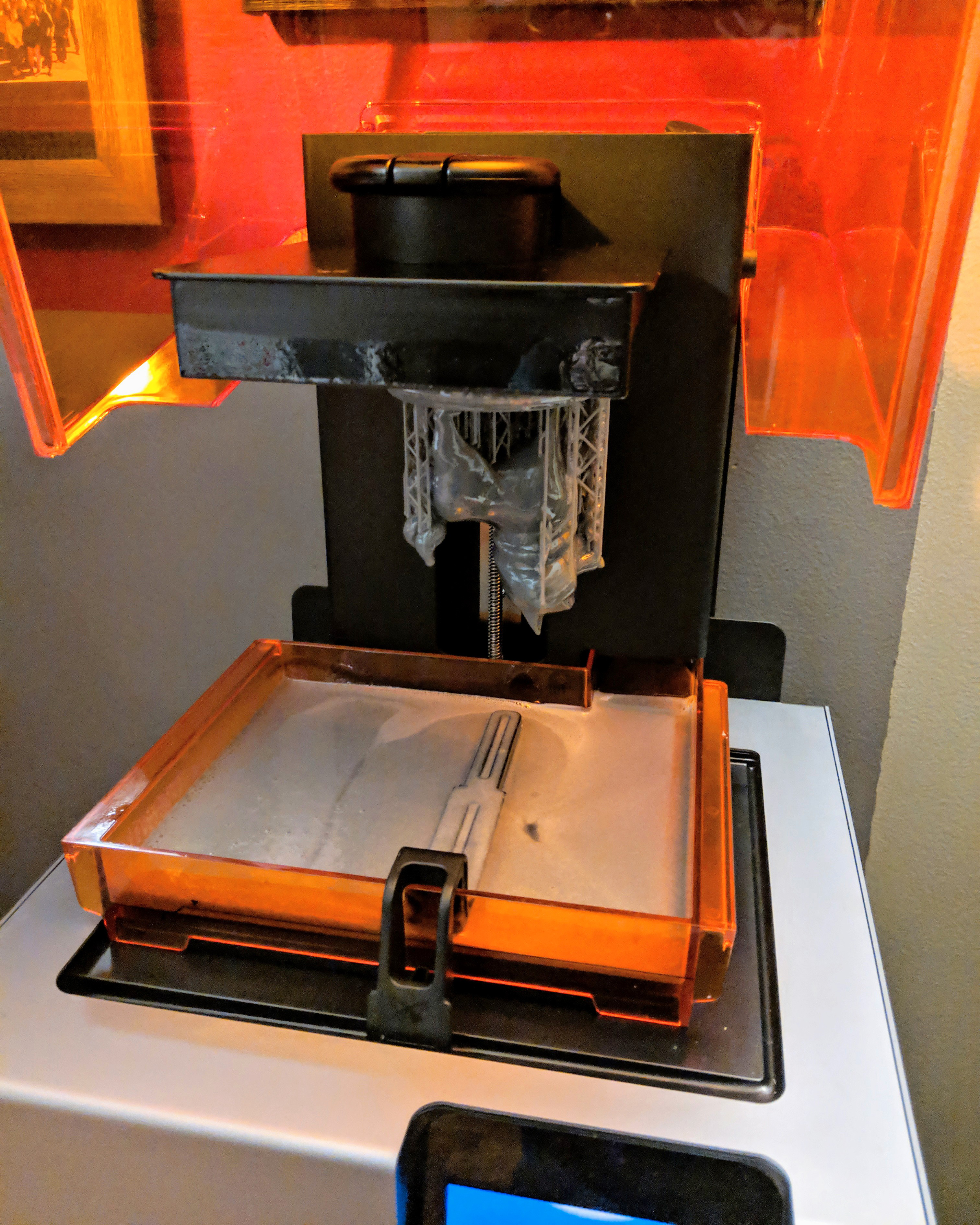Printing on the Formlabs Form 2