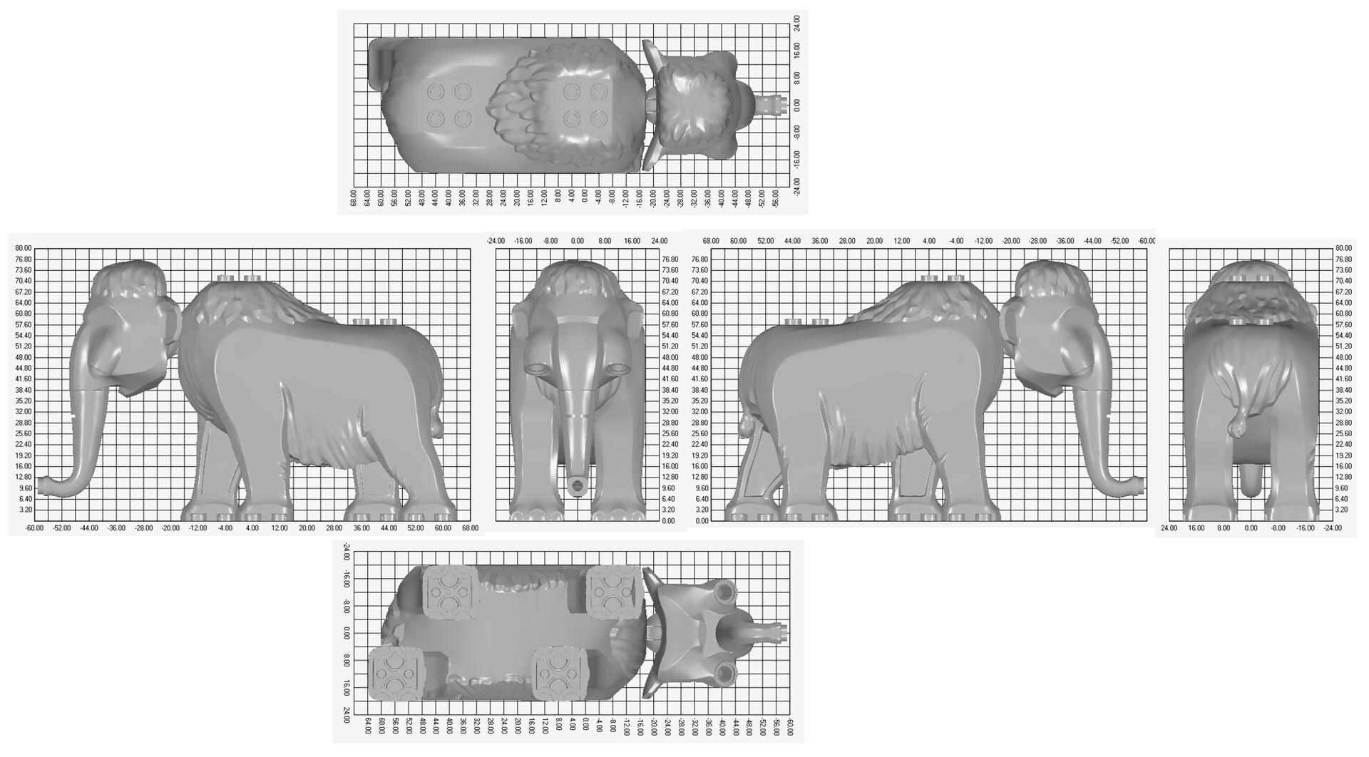 Paul marion wood mammoth body full grid