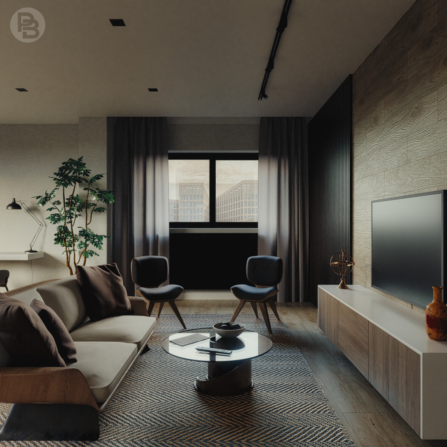 Afternoon living room