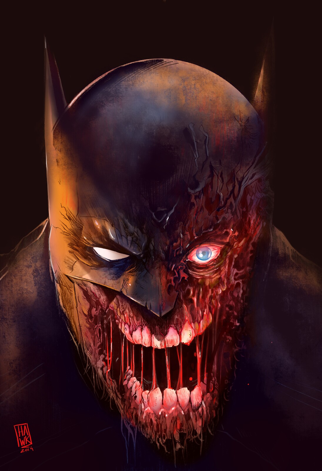 DCeased Batman