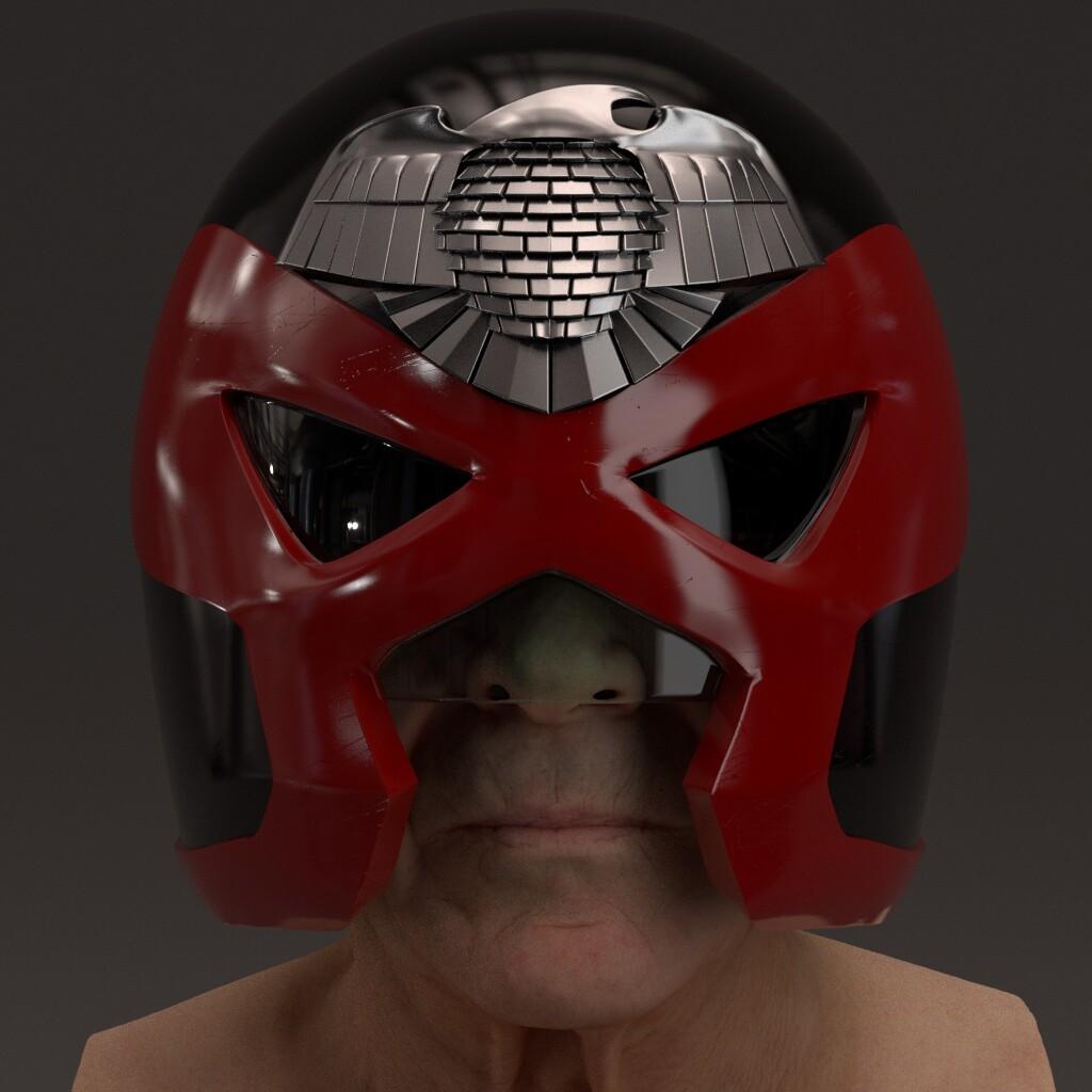 SJS Praetorian Guard (Think inspired by an Ezquerra Dredd concept)
