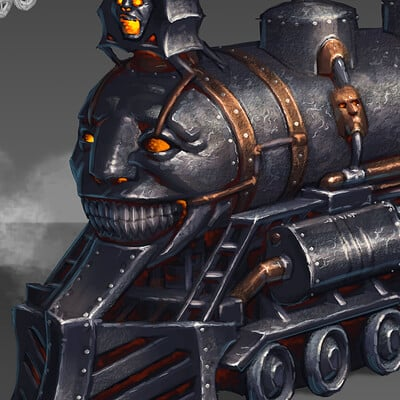 David haire dhaire week 14 train engine