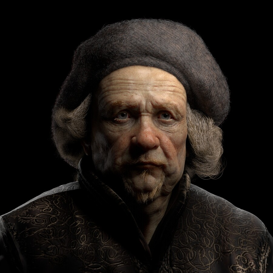 Likness of the Great Master Rembrandt