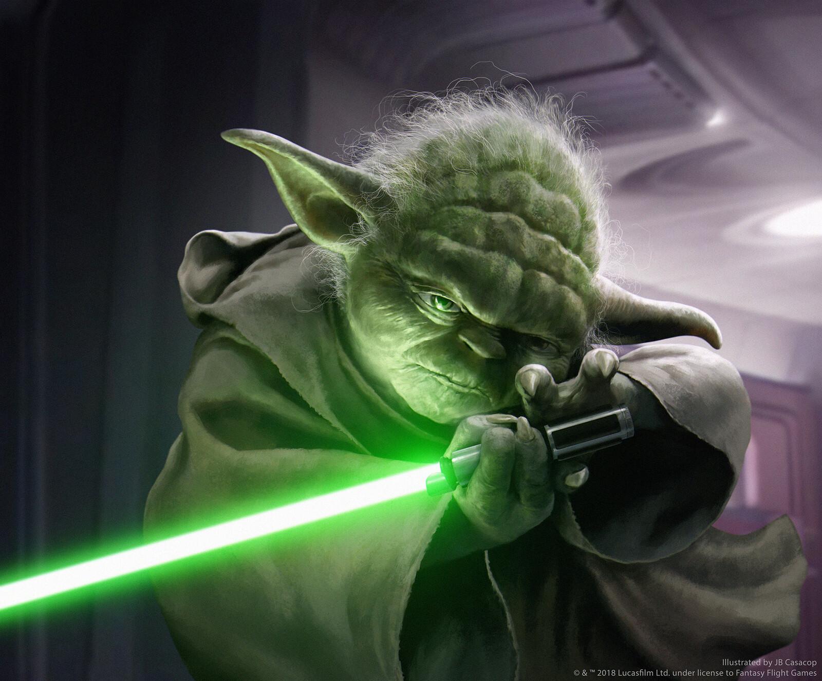 Yoda's Lightsaber