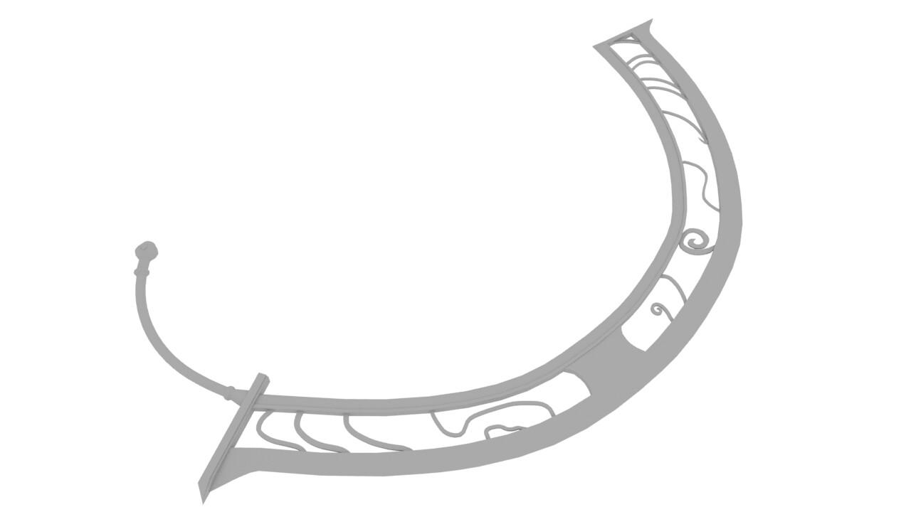 Dana's Sword from Ys 8 (Fan Made)