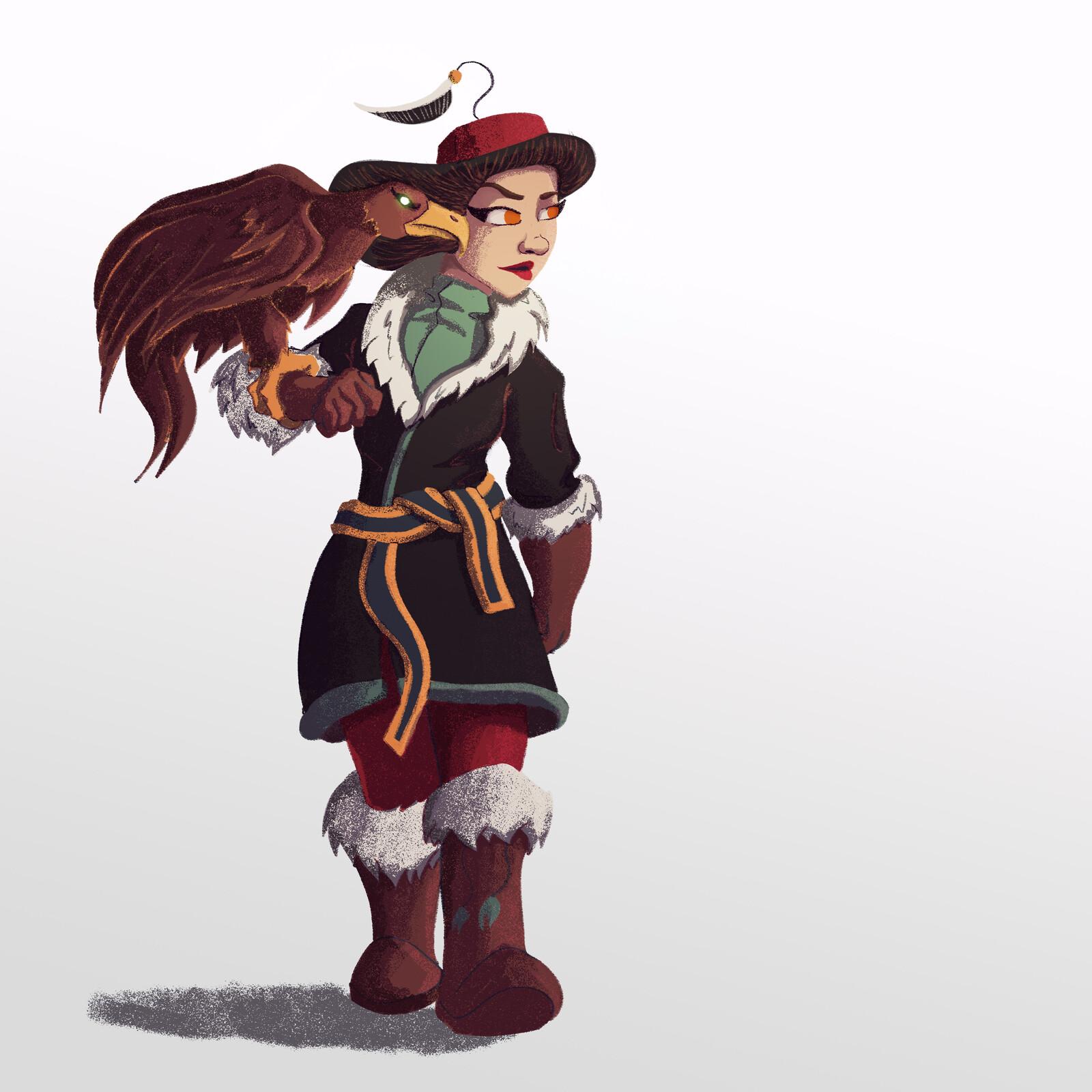 CDC Eagle Huntress