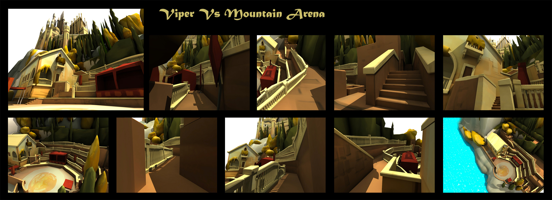 Arena | Closeup details