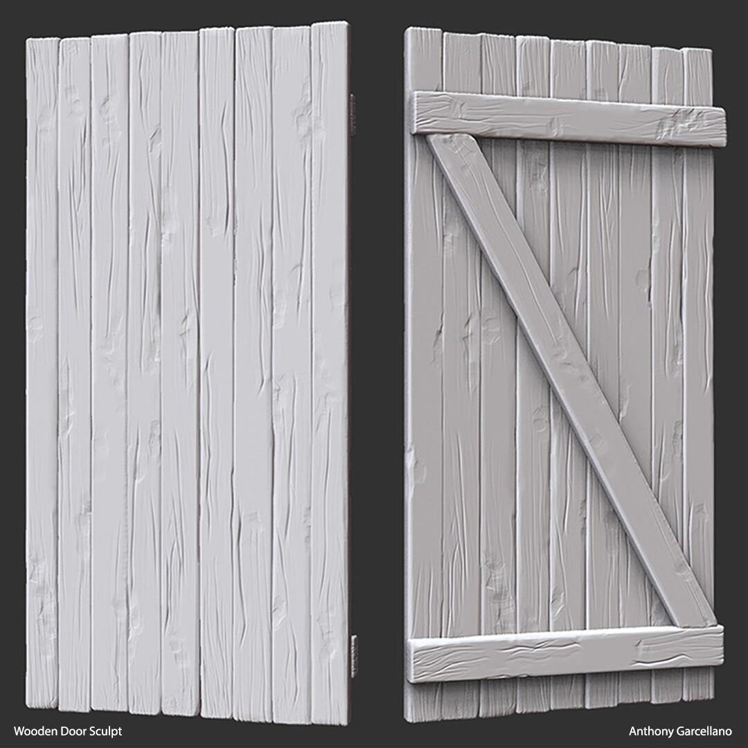Anthony garcellano woodendoor sculpt