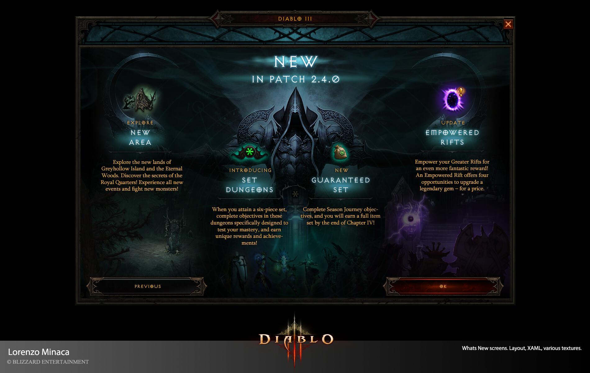 ArtStation - Diablo III, Lorenzo Minaca