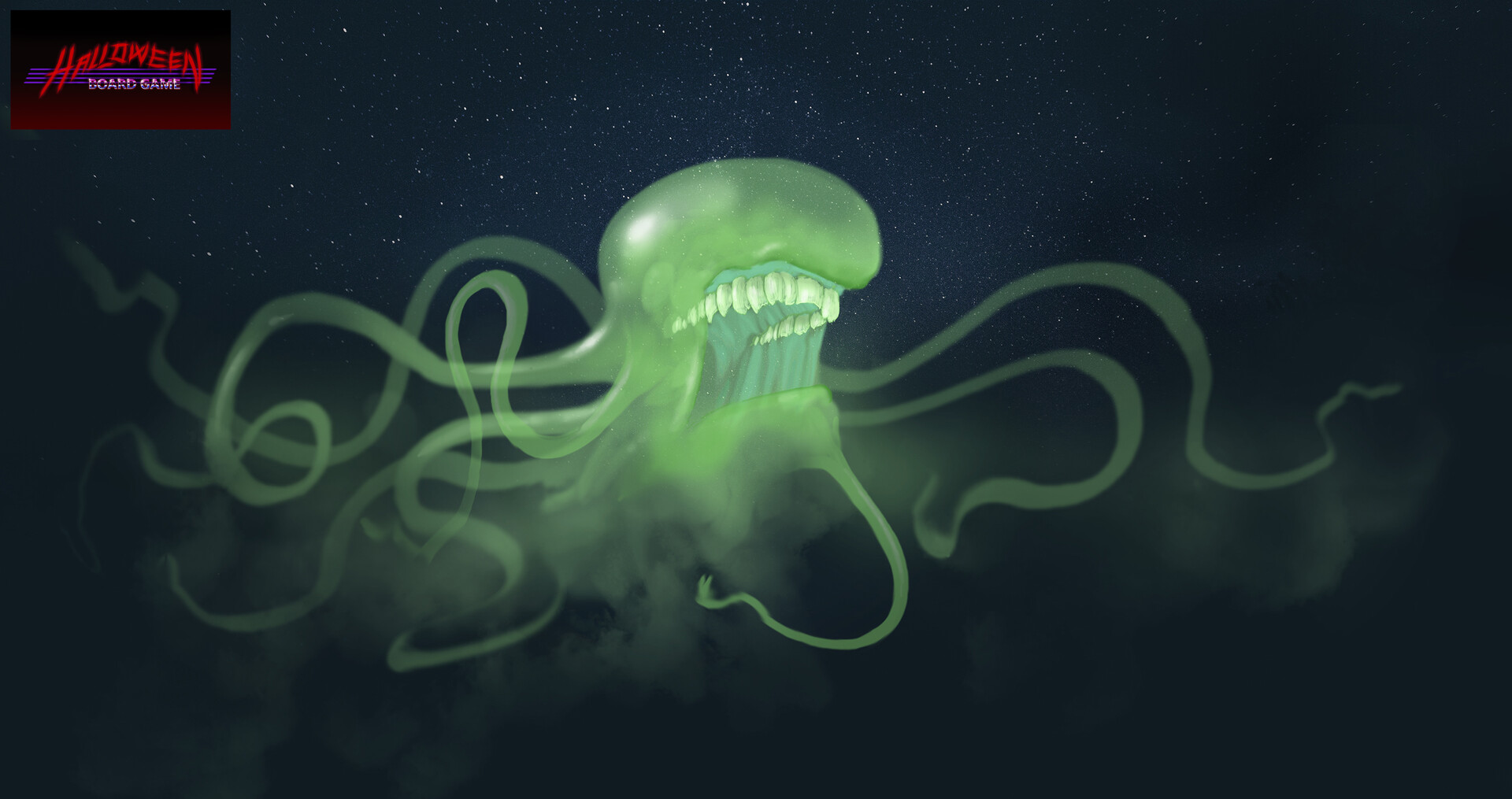First ghost concept that didn't make it into the game.