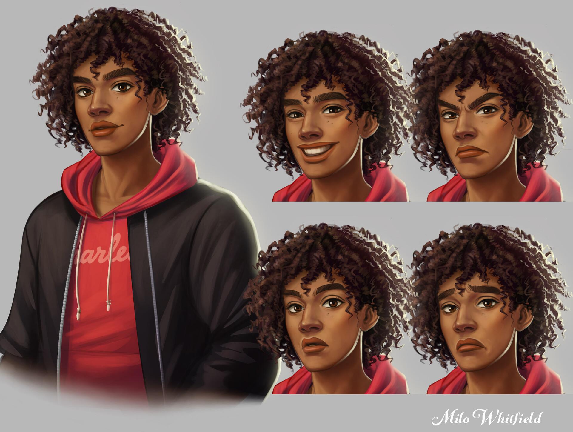 Character Art: Milo