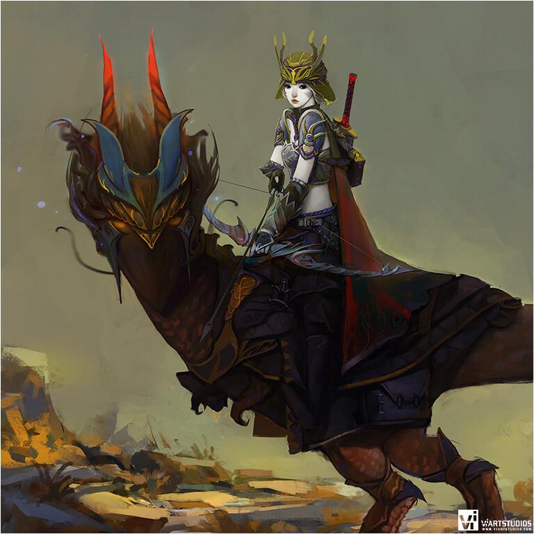 Evil Huntress